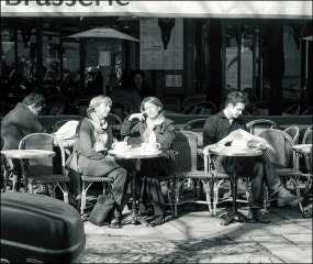 Brasserie, Early Morning, 2001