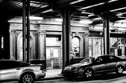 Armitage El Station, North Entrance