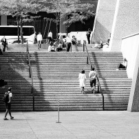 Chase Plaza Stairs