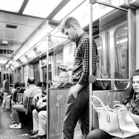 Chicago Blue Line, 8am