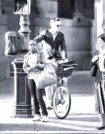 Crosswalk on Rue de Rivoli