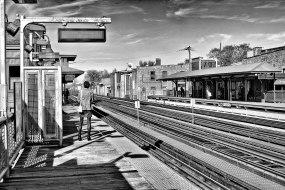 Brown Line Armitage El Platform