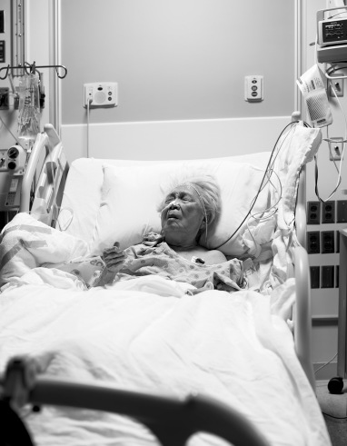 Patient in Room 504, The University of Chicago Hospitals