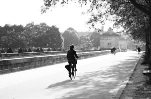 Morning Commute in Paris
