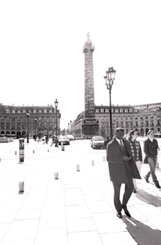 Place Vendome, Late Afternoon, 2003