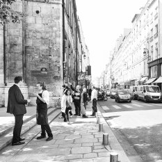 Smoke Break On The Rue Faubourg St. Honore