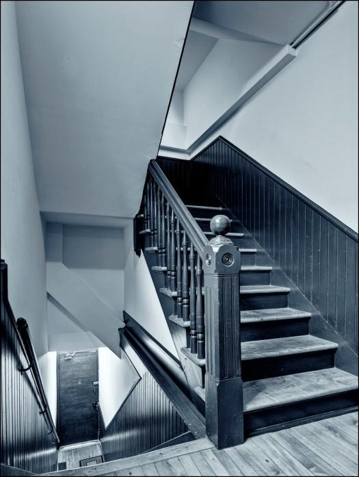 Stairs 4 (St. Eustache)